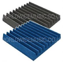 60 X 60 X 5cm Foam Acoustic Tiles (Pack of 8 Tiles) - Choice of Blue or Grey